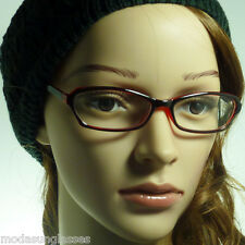 60's Retro Vintage Style Cat Women Rx Rectangle Frame Clear Lens Eye Glasses NEW
