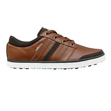 NEW MEN'S ADIDAS ADICROSS GRIPMORE GOLF SHOES TAN/GREEN Q44568- PICK YOUR SIZE