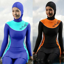 Summer Modesty Muslim Swimwear Swimsuit Full Cover Islamic Beachwear Burkini
