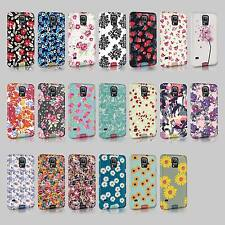 Tirita Floral Roses English Flowers Vintage Retro Case Hard Cover For Samsung