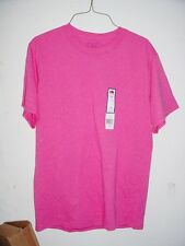 FRUIT OF A LOOM MENS PINK T-SHIRT S SMALL