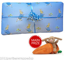 Peter Rabbit Pass The Parcel Party Game Ready Made (8 - 25 Layers)