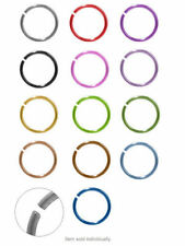 "Nose stud jewelry Anodized Titanium Nose Rings 18g 5/16"" no tolls needed"