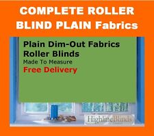 Roller Blinds Plain Beige cream white other Complete Made to Measure Blind