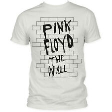 PINK FLOYD THE WALL FITTED JERSEY T-SHIRT OFFICIALLY WHITE NEW MEN SIZE S M L XL