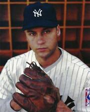 Baseball New York Yankees Derek Jeter Throwback Photo Picture