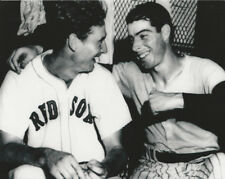 MLB Baseball Red Sox Ted Williams and Yankees Joe DiMaggio Photo Picture