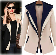 New Casual Winter Women Slim Zipper Long Sleeve Jacket Hooded Outerwear Coat