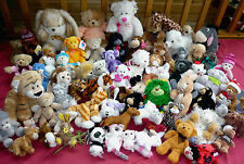 HUGE Selection of Soft Plush Cuddly Toys Teddy Bears Rabbits Cats Eeyore etc