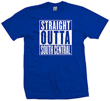 Straight Outta South Central T-Shirt - Los Angeles Compton NWA Parody All Colors