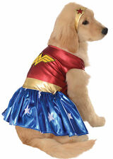 Pet Dog Cat Wonder Woman Superhero Halloween Clothing Fancy Dress Costume Outfit