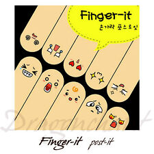 Novelty Note Finger It Stickers Bookmarker Labelling Scrapbooking Notepad