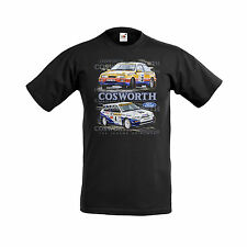 FORD COSWORTH ESCORT AND SIERRA RALLY T SHIRT S-3XL BRAND NEW DESIGN