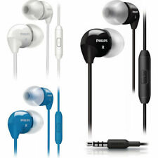 Philips SHE3595 Handsfree headset Earphones in-ear Mic for iPhone Samsung HTC