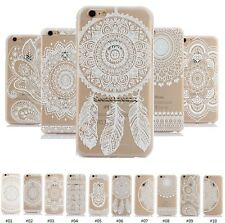 New Hollow Lace Dream Patterned TPU Bumper Hard Case Cover Back For Apple iPhone