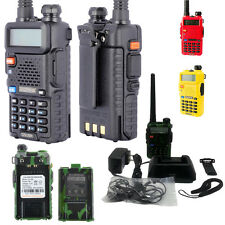 BAOFENG UV-5R 136-174 /400-520MHz DTMF CTCSS Dual Band Ham Radio Walkie Talkies