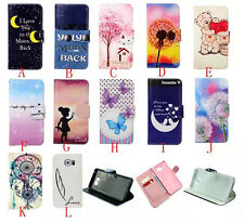 Hot Sell Lovely Flip Wallet Leather Stand Case Cover for Various Samsung iphone