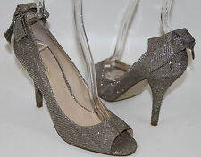 ENZO ANGIOLINI MISTLE GITTER CORSET BOW PIN-UP PUMP    SZ 7   RETAIL$90  SOLDOUT