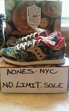 SAUCONY DXN TRAINER  LODGE PACK  CAMO  RARE LIMITED Deadstock S70174-2