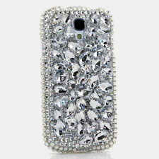 FOR SAMSUNG GALAXY S6 NOTE 5 CRYSTALS BLING CASE COVER CLEAR STONES DESIGN