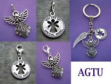 NEW PICK YOUR ANGEL You Are My Special Angel Keychain Keyring Charm Wing Clip On