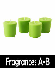 Scented Soy Wax Candle (Scents A-E) 100% Soy Wax - 18hr Burn Time - Votive