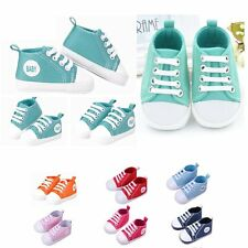 Toddler Infant Baby Boy Girl Soft Anti-slip Sole Crib Shoes Sneaker Newborn