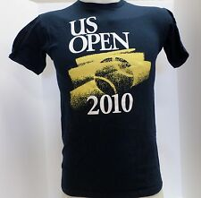 NIKE Mens USTA 2010 US OPEN Tennis T-Shirts Navy Blue