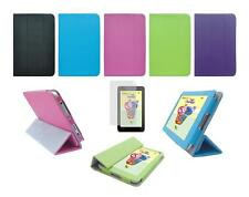 Folio Skin Cover Case and Screen Protector for Toshiba Excite Go AT7-C8 Tablet