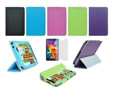 """Folio Skin Cover Case and Screen Protector for Samsung Galaxy Tab 4 7"""" SM-T230"""