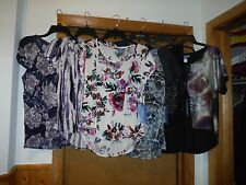 Short Sleeve Mix Blouses Simply Vera Vera Wang some size and Multi Color NWT
