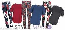 Ladies MISSI Crepe Tunic Top Party Xmas Gift Womens Retro Floral Trousers 8-14