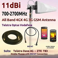 11dBi 4G 3G 700-2700MHz LPDA Antenna suit Telstra Dave 4G ZTE T83 Coax FME MS147
