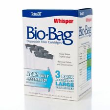 Aquarium Fish Tank Filter Cartridges Tetra Whisper Disposable Assembled Bio-Bag