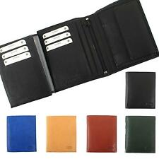 Men's Wallet Leather Wallet with Winding technology Men's Wallet leather Branco