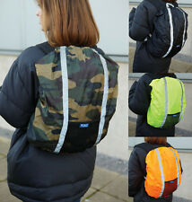 High Visibility Rucksack Cover (YK152) - Hi Viz Waterproof Safety Hiking Camping
