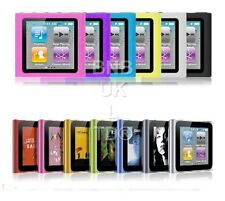 Silicone soft gel Cover Case For Apple iPod Nano 6 6th Generation Gen