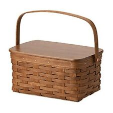 Longaberger Lunch Box Basket, Lid,  Protector - 3 Colors **NEW**