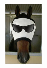 New Funny Horse Pony Fly+mask+Fly+Veil MR COOL UV+Insect protection
