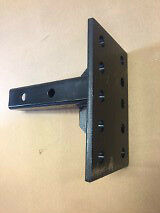 "American Motorhome RV Tow Bar Pintle 2"" Bar 9"" Plate With Multi Position Holes"