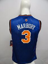 New Adidas New York Knicks NBA # 3 Stephon Marbury Basketball Men's Jersey Blue