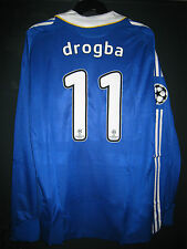 Chelsea ADIDAS 2008 Champions League Final Formotion Player Issue Shirt DROGBA