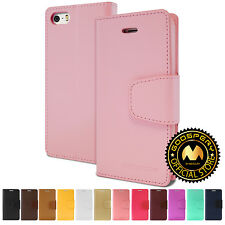 GOOSPERY® Sonata Diary Media Flip Stand Wallet Case Cover For Apple iPhone SE