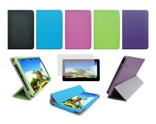 """Folio Skin Cover Case and Screen Protector for Ematic 10"""" EGD213 Tablet"""
