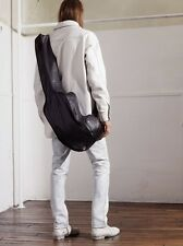 Maison Martin Margiela  H&M Padded Leather Shirt Coat Jacket White