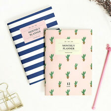 [Iconic A6 Monthly Planner V.2] Diary Scheduler Book Journal Monthly Planner