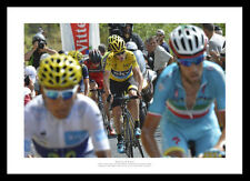 2015 Tour de France Chris Froome Quintana Nibali Cycling Photo Memorabilia (658)