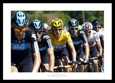 Bradley Wiggins & Team Sky 2012 Tour de France Cycling Photo Memorabilia (234)