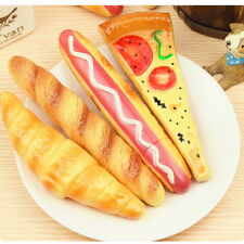 Fast Food Ballpoint Pen with a Magnet Behind Stationery Fridge Bread Pizza J