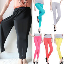 Trendy Womens Leggings Plus Size Ladies Sexy Elastic Stretch Trousers Hot Sale